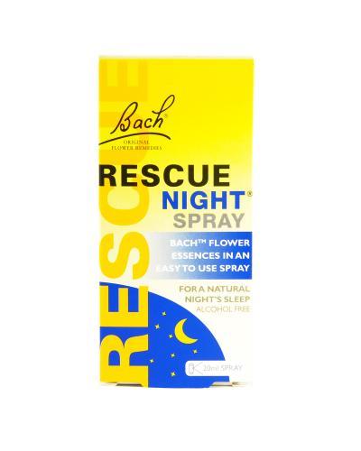 英国 Rescue Night 巴赫花天然配方助眠喷雾 改善睡眠 20ml