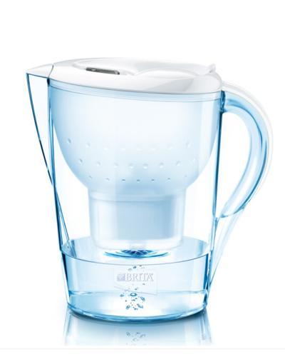 德国 Brita 碧然德 金典系列白色滤水壶 3.5L + 碧然德净水器滤芯1枚装