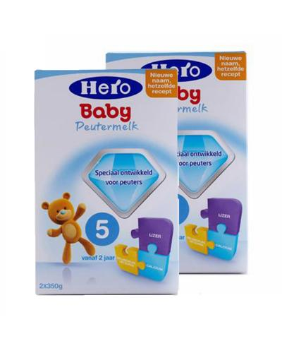 荷兰 Hero Baby 美素婴幼儿配方奶粉5段(2~7岁)700g 2盒装